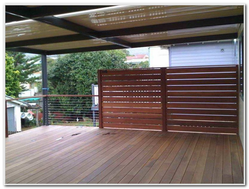 Diy Deck Privacy Screen Ideas