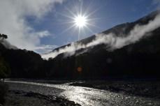 Stream near Fantail Falls, Aspiring National Forest