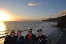 Tasman Sea at Sunset