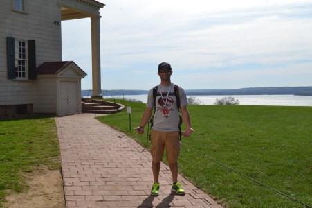 Mount Vernon and Potomac River