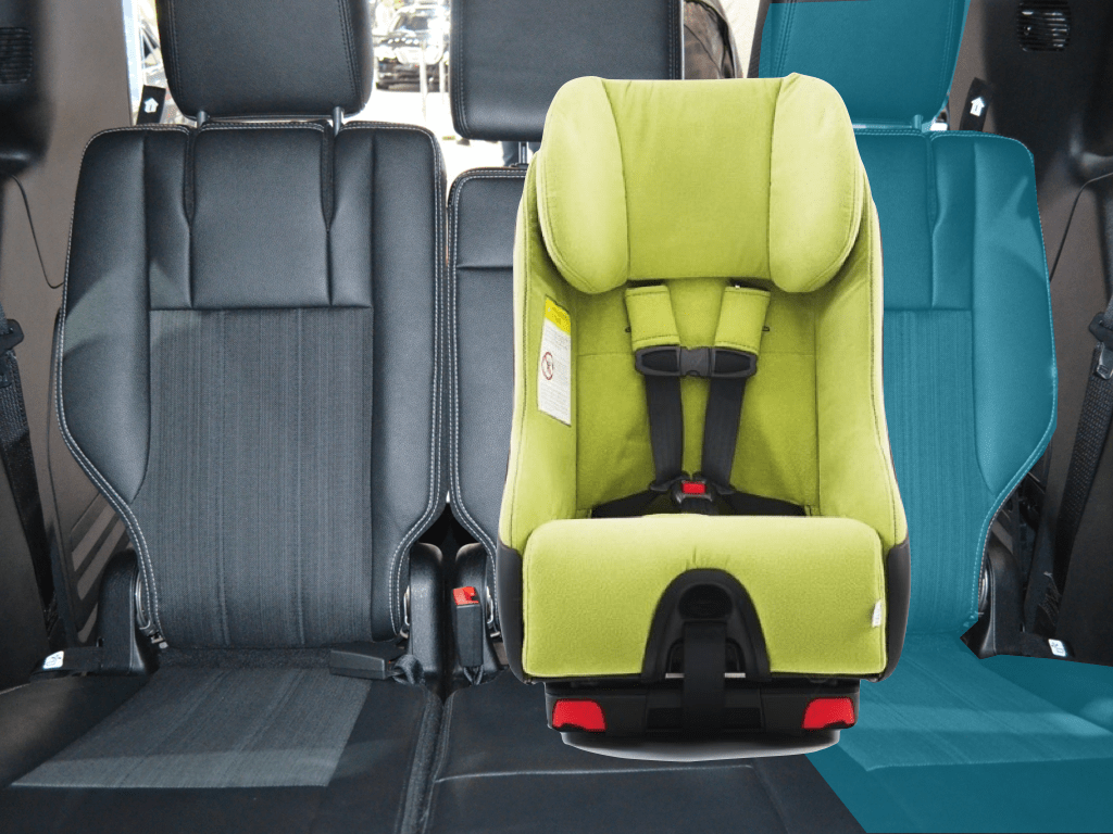 hight resolution of car seat installed in 3c with latch takes up 3d 3c in 2014 dodge grand caravan chrysler town country volkswagen routan