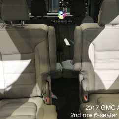 2017 Gmc Acadia With Captains Chairs Ergonomic Chair Good For Back The Car Seat Lady