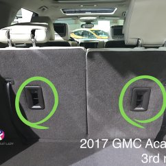 2017 Gmc Acadia With Captains Chairs Hair Salon Chair The Car Seat Lady
