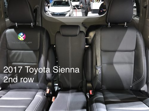 small resolution of the car seat ladytoyota sienna the car seat ladyhowever you can not use the lower