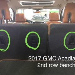 2017 Gmc Acadia With Captains Chairs Herman Miller Aeron Chair Seattle The Car Seat Lady