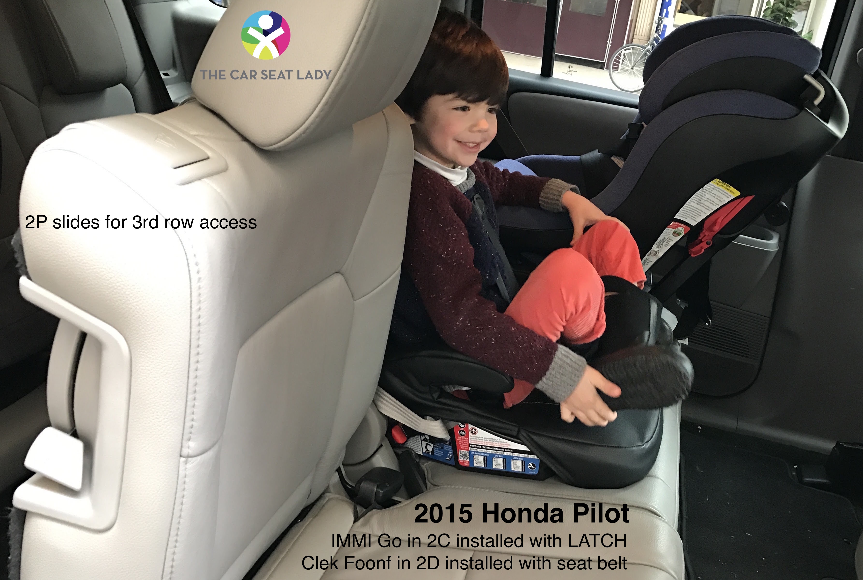 The Car Seat LadyHonda Pilot  The Car Seat Lady