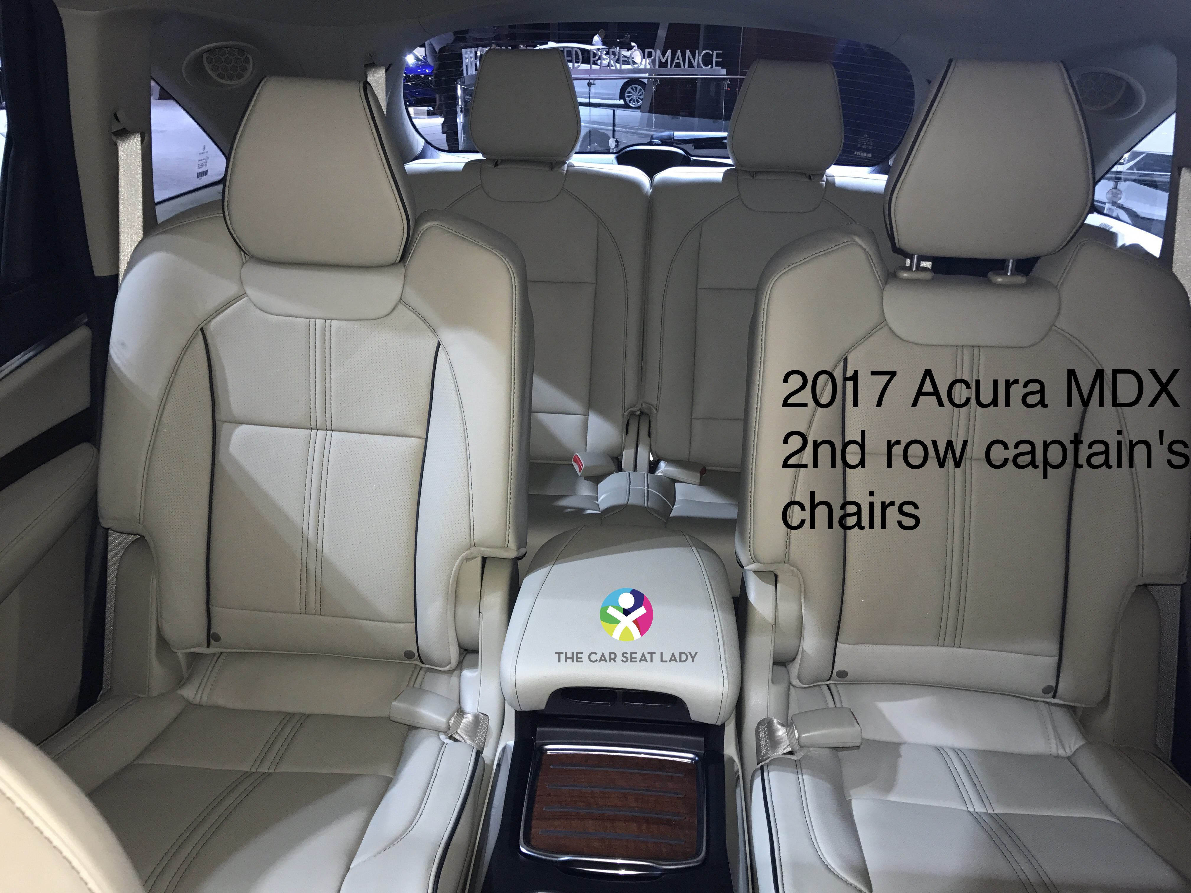 which suvs have captains chairs the empty chair song car seat lady  acura mdx