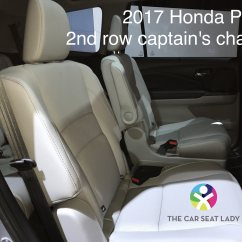 Honda Pilot Captains Chairs Used Salon For Sale The Car Seat Lady Center Belt 2nd 3rd Rows Comes From Roof