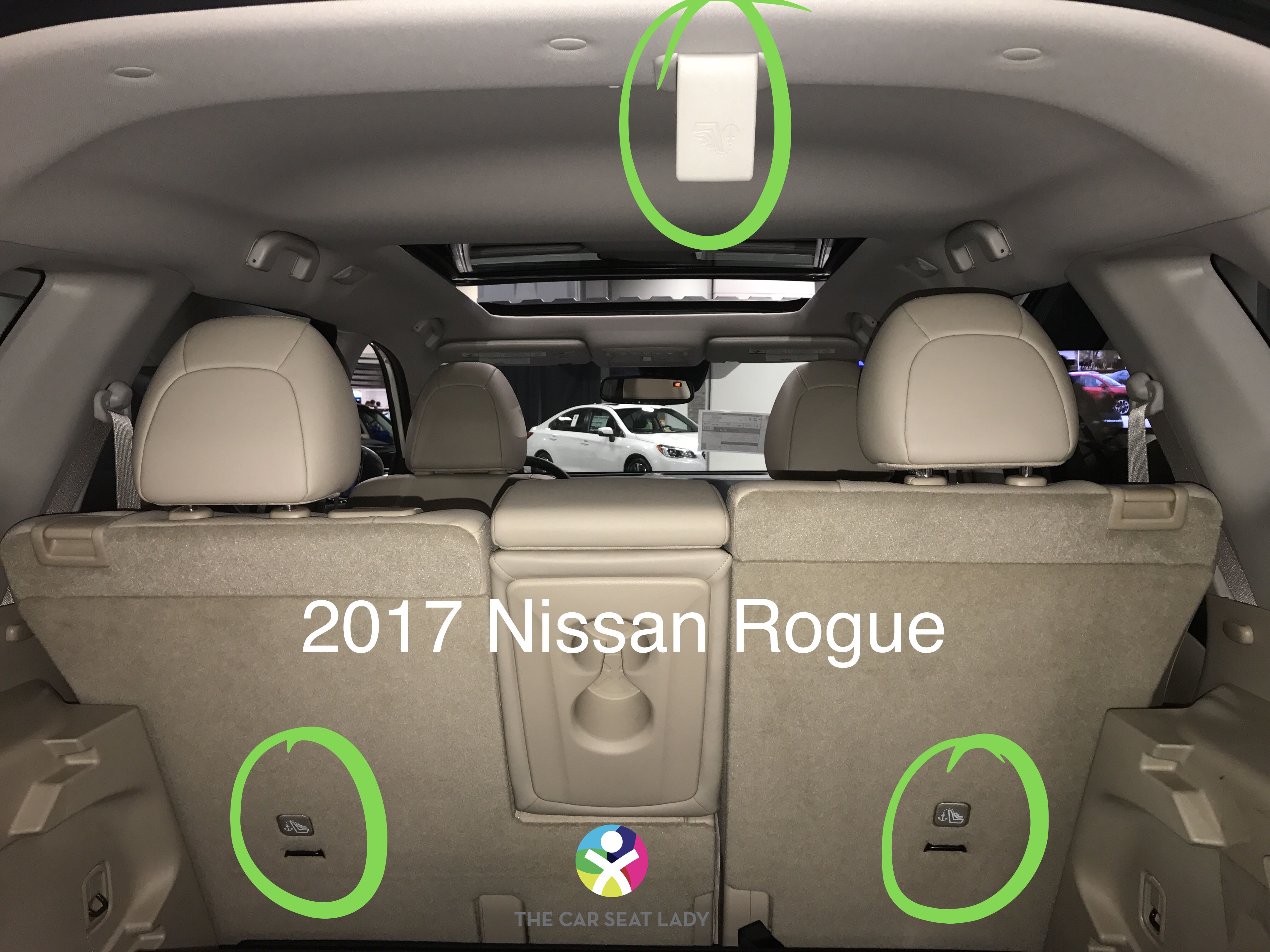 The Car Seat Lady  Nissan Rogue