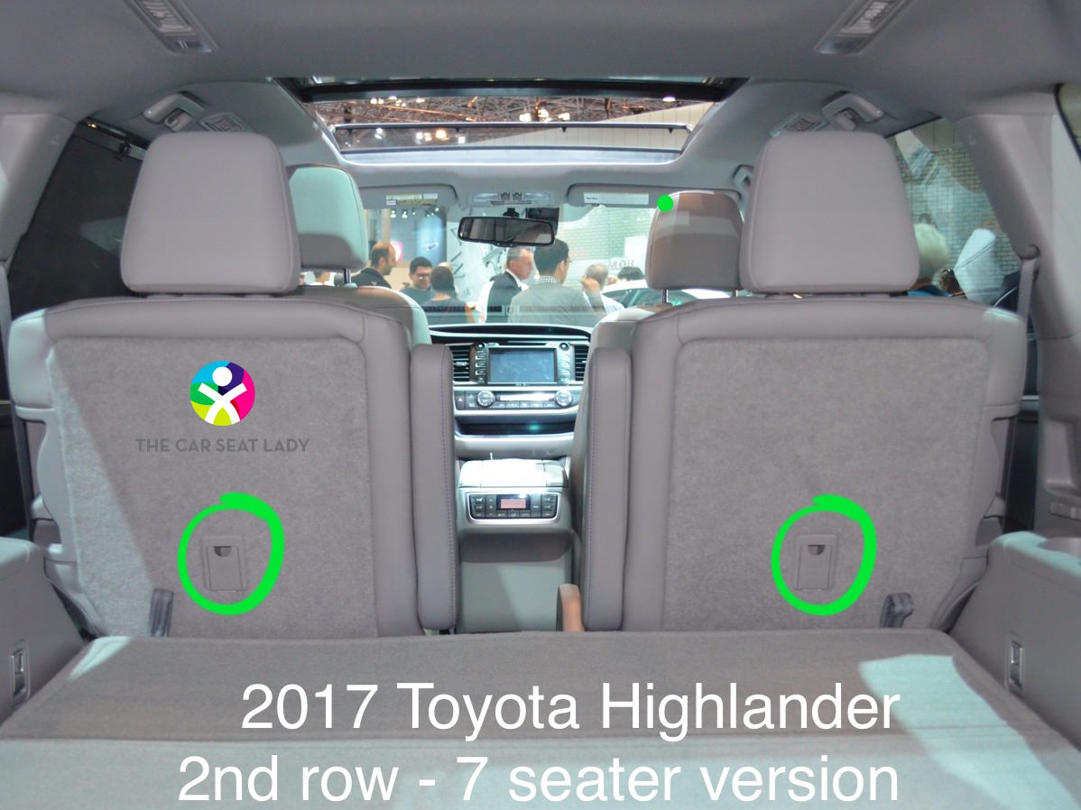Toyota Highlander Captains Chairs Suv With 2nd Row Captains Chairs 3rd Row Latch Autos Post