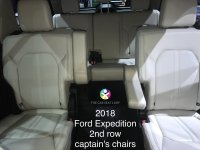 Ford Explorer Captains Chairs