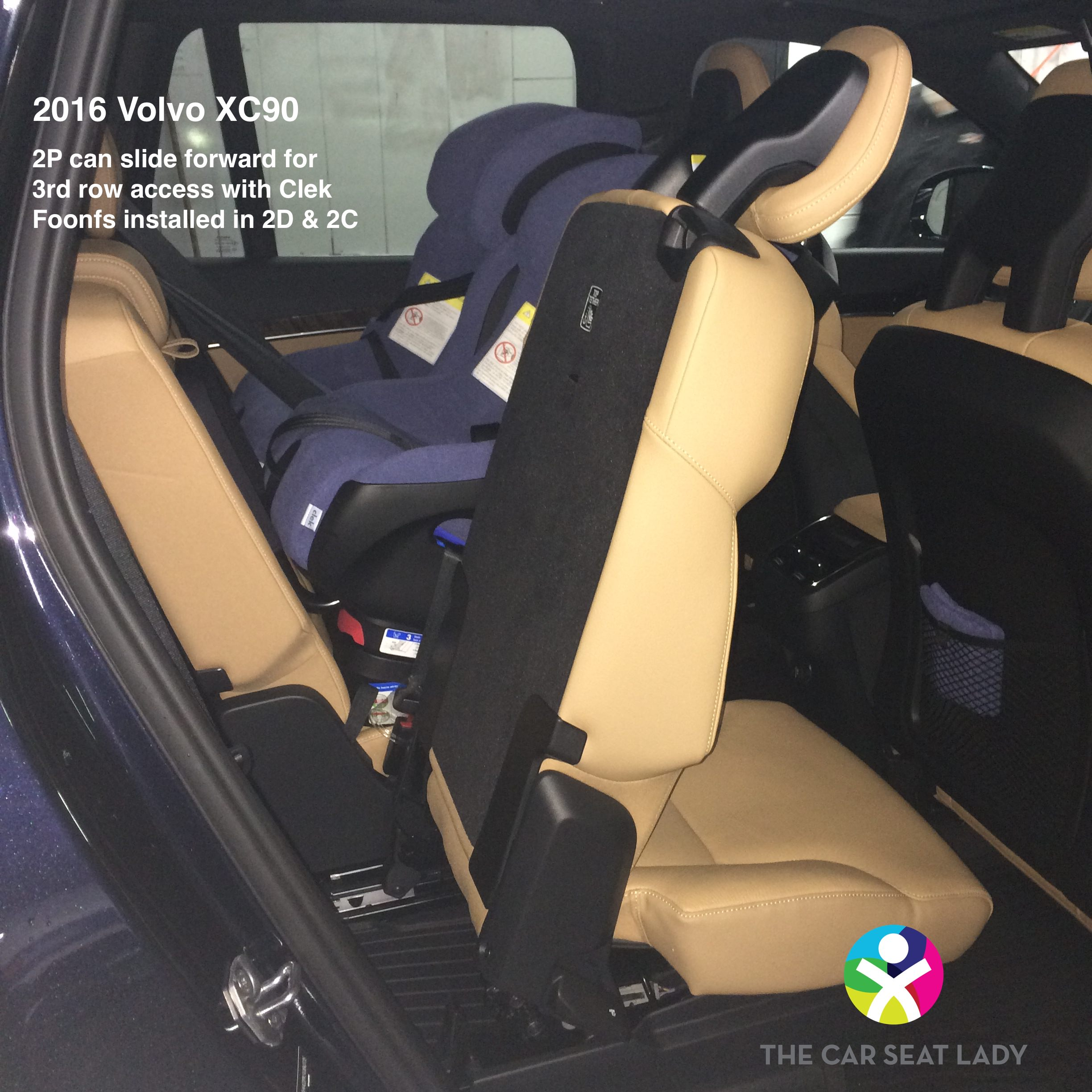 The Car Seat Lady  Volvo XC90