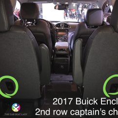 2017 Gmc Acadia With Captains Chairs Yellow Upholstered Armchair The Car Seat Lady  Buick Enclave