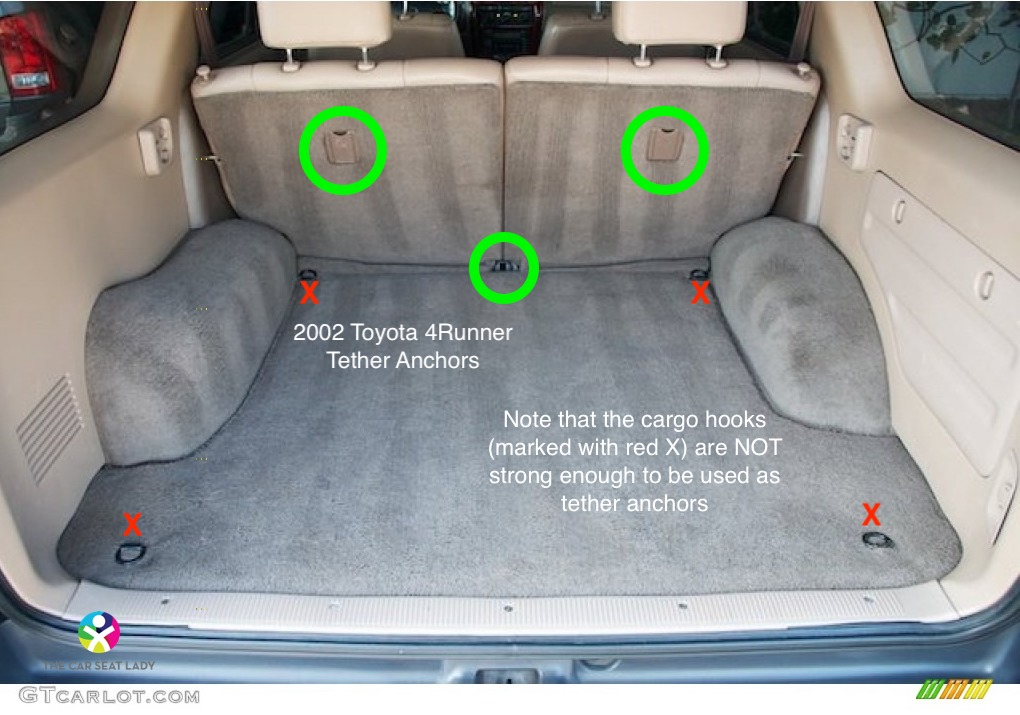 The Car Seat Lady  Toyota 4Runner