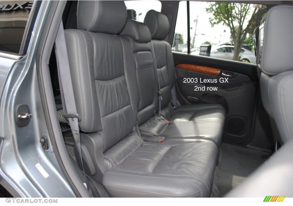 toyota 4runner captains chairs folding chair with umbrella the car seat lady lexus gx 2003 2009 has same 2nd row as 2004 7 seater version