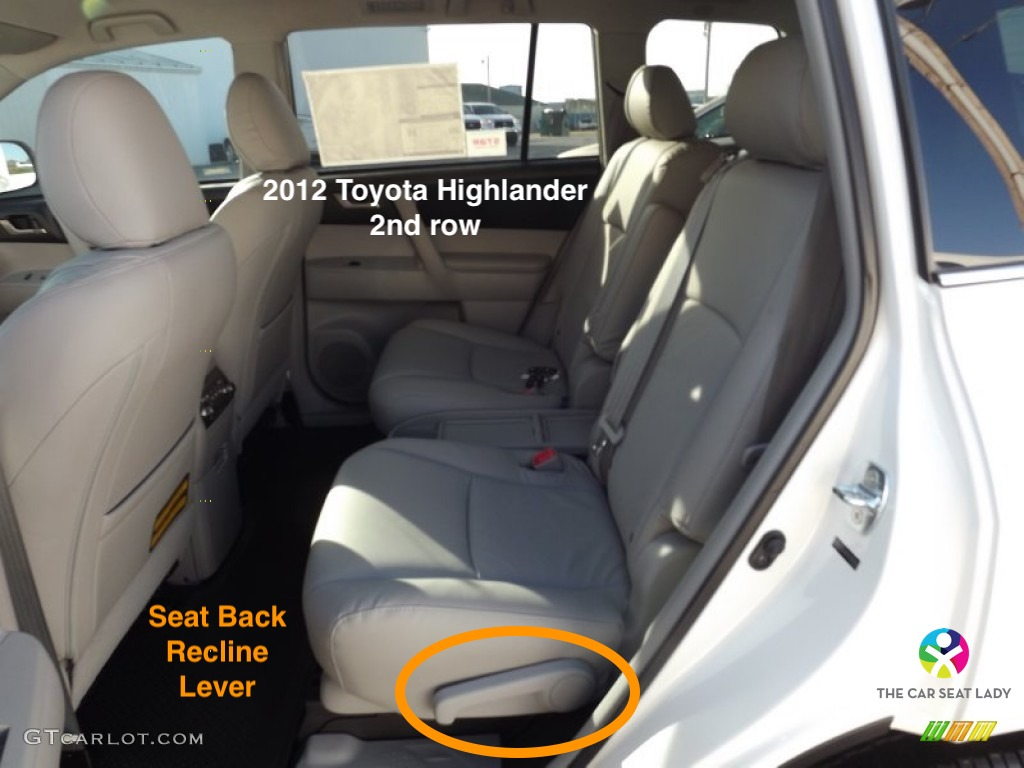 The Car Seat Lady  Toyota Highlander