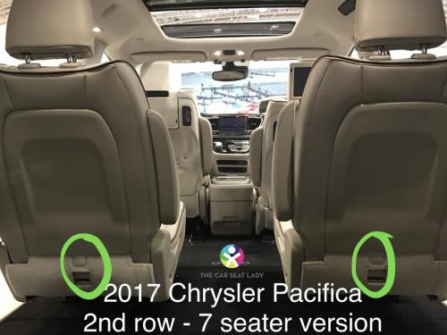The Car Seat Lady  Chrysler Pacifica