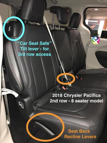 The Car Seat LadyChrysler Pacifica  The Car Seat Lady