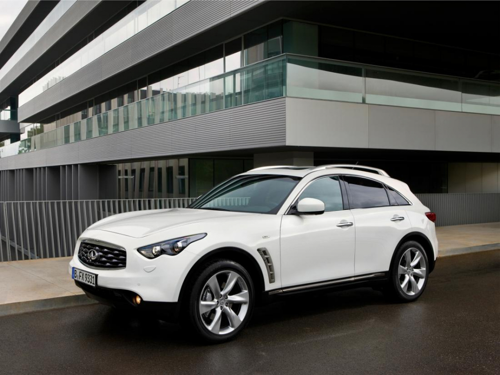 2021 Infiniti QX70 Wallpapers