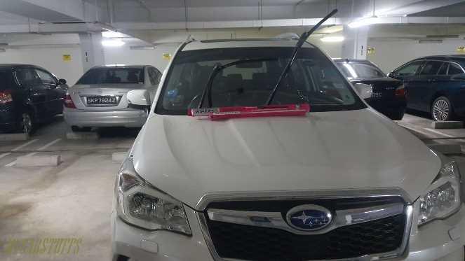 Nano Coating Wiper Blade for Car Windscreen