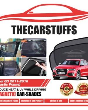 Audi Car Sunshade for Q3 2011 - 2016 (Plastic Frame)