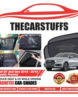 Audi Car Sunshade for Q7 2nd Gen 2016 - 2018 (Plastic Frame)