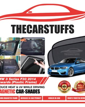 BMW Car Sunshade for 3 Series F30 2014 Onwards (Plastic Frame)
