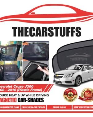 Chevrolet Car Sunshade for Cruze J300 2008 - 2016 (Plastic Frame)