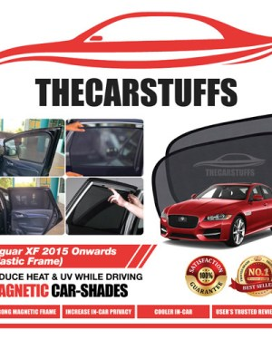Jaguar Car Sunshade for XF 2015 Onwards (Plastic Frame)