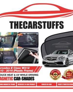 Mercedes Car Sunshade for E Class W212 2010 - 2016 (Plastic Frame)