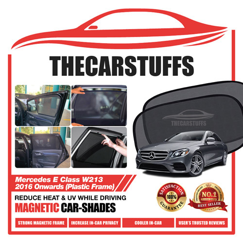Mercedes Car Sunshade for E Class W213 2016 Onwards (Plastic Frame)