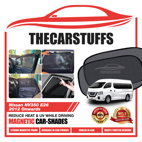 Nissan Car Sunshade for NV350 E26 2012 Onwards