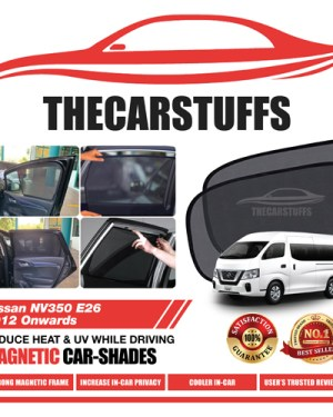 Nissan Car Sunshade for NV350 E26 2012 Onwards