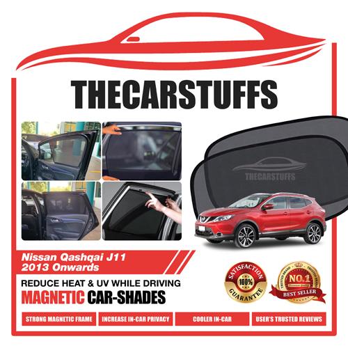 Nissan Car Sunshade for Qashqai J11 2013 Onwards