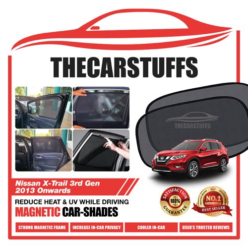 Nissan Car Sunshade for X-Trail 3rd Gen 2013 Onwards