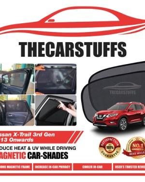 Nissan Car Sunshade for X-Trail 3rd Gen 2013 Onwards