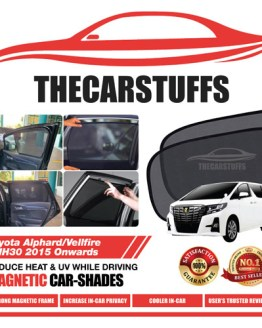 Toyota Car Sunshade for Alphard/Vellfire ANH30 2015 Onwards