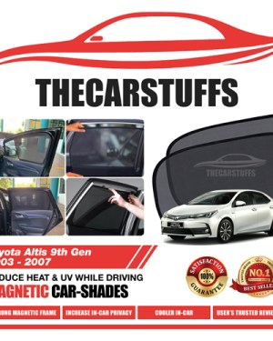 Toyota Car Sunshade for Altis 9th Gen 2003 - 2007