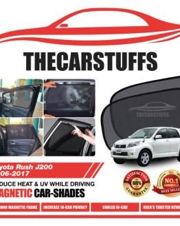 Toyota Car Sunshade for Rush J200 2006 - 2017
