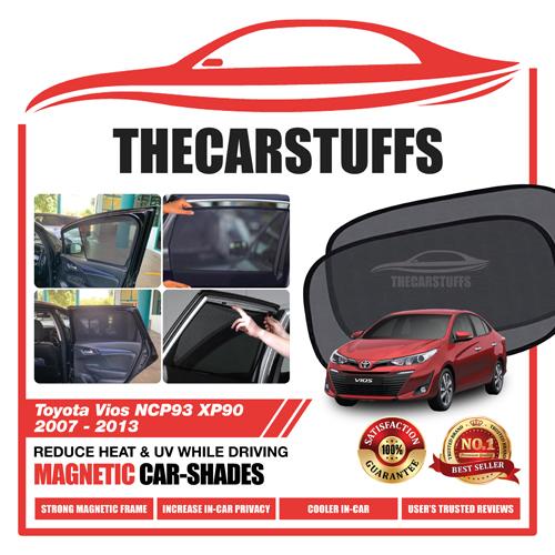 Toyota Car Sunshade for Vios NCP93 XP90 2007 - 2013