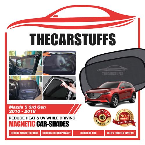 Mazda 5 Car Sunshade for 3rd Gen 2010 - 2018