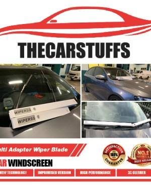 Multi Adaptor Wiper Blade for Car Windscreen