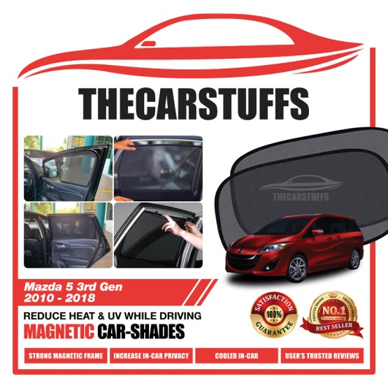 Mazda 5 Car Sunshade for 3rd Gen 2010 - 2018