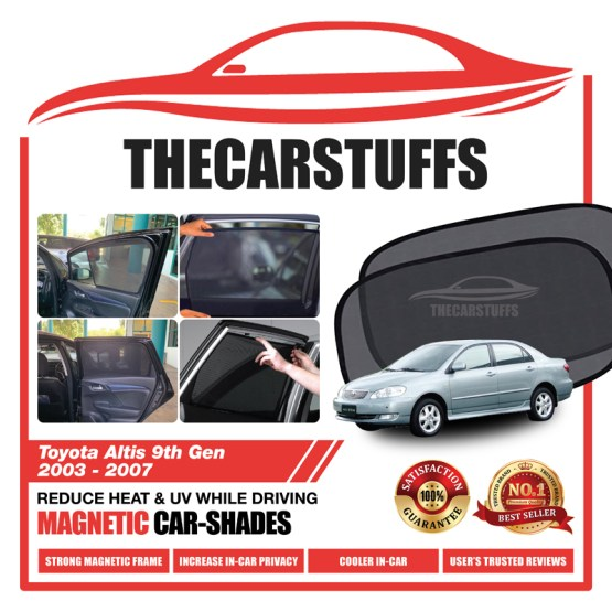 Toyota Car Sunshade for Altis 9th Gen 2003 - 2007