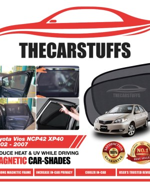 Toyota Car Sunshade for Vios NCP42 XP40 2002 - 2007