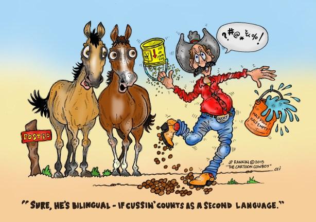 "JP Rankin ""The CARTOON COWBOY"" The Art Of The Cartoon"