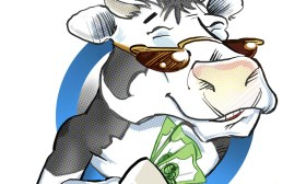 Cartoon Logos- Cash Cow