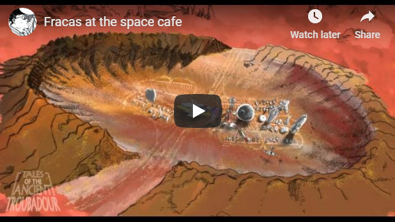 ANIMATION-Fracas at the space cafe