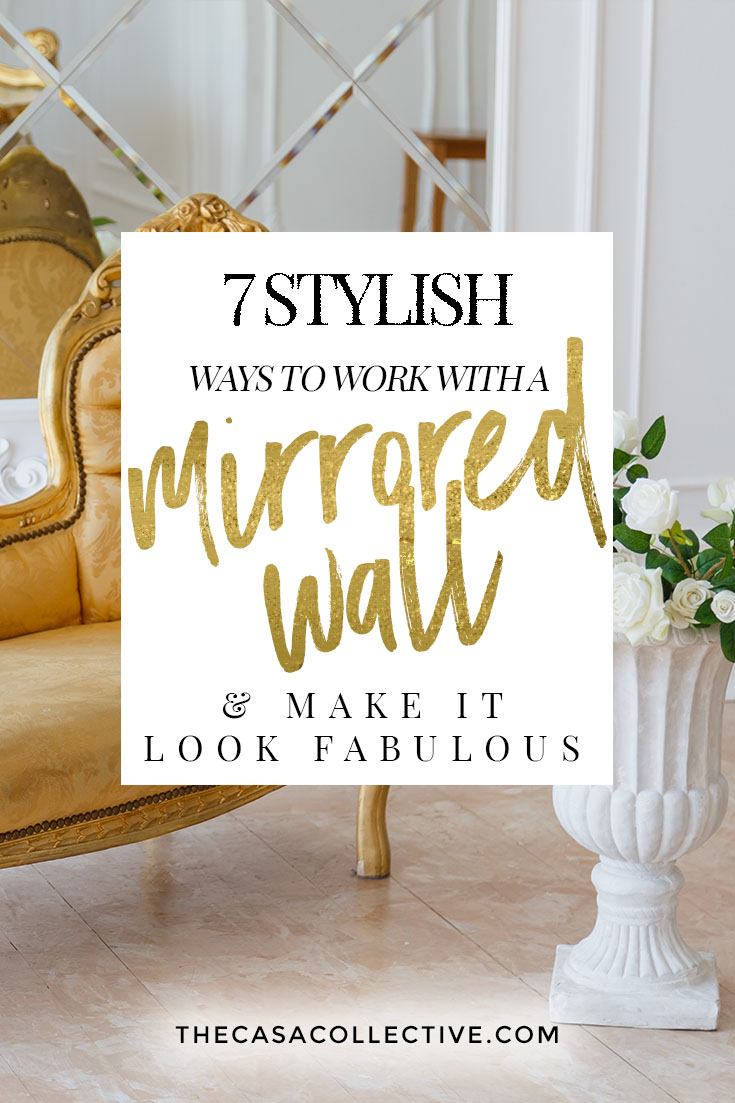 What To Do With A Mirrored Wall : mirrored, Stylish, Mirrored, Fabulous