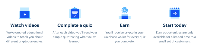 how coinbase earn works